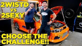 2WISTD VS 2SEXY - Choose The Challenge!