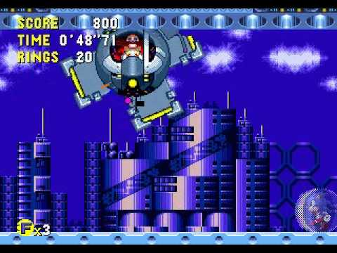 Sonic CD - How to beat the Final Boss without getting hit