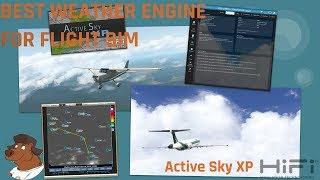 [X-Plane 11] Active Sky XP | HiFi Simulation Technologies