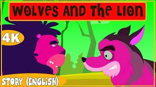 WOLVES AND THE LION || SUGAR TALES || STORIES FOR KIDS