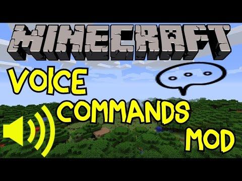 Minecraft Mods   Voice Commands!   Harken Mod 1.7.2   Mod Showcase & Review