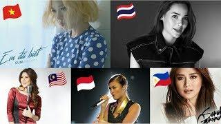 Southeast Asian Pop/Ballad Songs 2015-2018