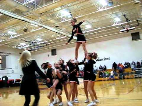 Jr. High Cheerleading Stunt Fail