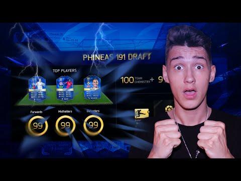 FIFA 16 OMFG MY BEST DRAFT - 191 TOTS FUT DRAFT XXL