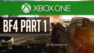 BF4 Walkthrough Part 1 (Xbox ONE) - Baku - Mission 1 - Battlefield 4 Gameplay Playthrough