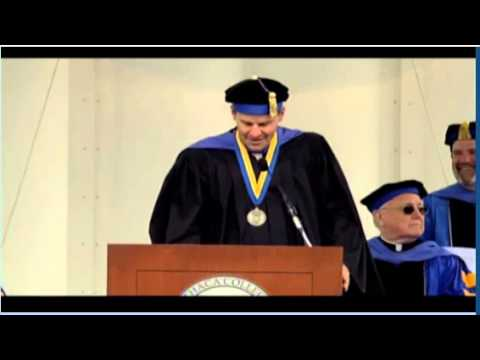Ithaca College - David Boreanaz speech