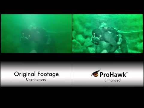 ProHawk Subsea Diver Working on Pipeline