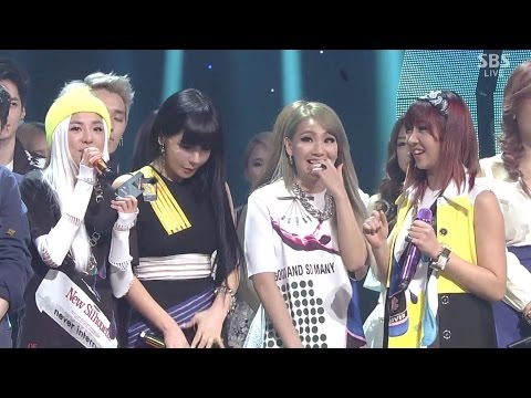 2ne1-'come Back Home' 0316 Sbs Inkigayo No.1 Of The Week video