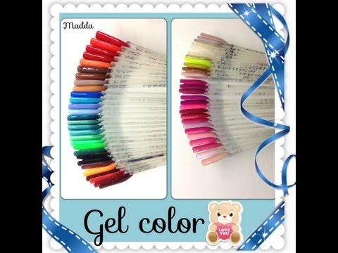 Review: I miei gel colorati Ricostruzione unghie (aggiornato) || Madda.fashion