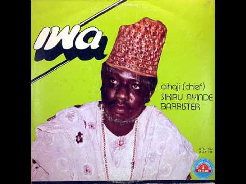 Dr. Sikiru Ayinde Barrister-iwa A video