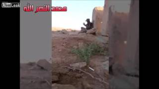 Cunning Iraqi Soldier Outwits ISIS Sniper