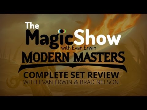 Complete Modern Masters Set Review - Multicolor. Artifact & Land!