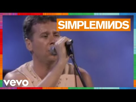 Simple Minds - Let It All Come Down (Live)