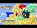SİLAHLI ŞANS BLOKLARI KULESİ CHALLENGE - Minecraft