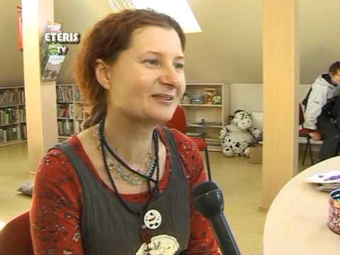 ETERIS TV 2013.03.27 Kovo 26-ą dieną Prienuose viešėjo dailininkė Sigutė Ach