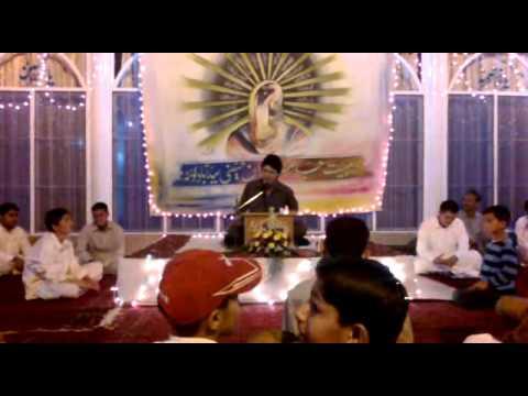 Ali Imran Manqabat 3 Shabaan2012(allah Ka Wali Ali A,s Hy) video