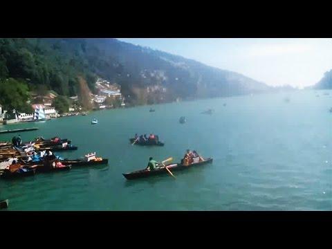 नैनीताल की झील और उसकी हँसी वादियां | Video of Nainital lake view 2015