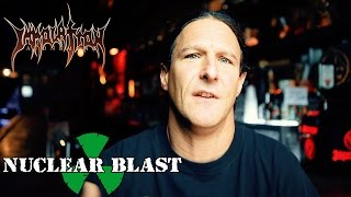 IMMOLATION - Ross Dolan 'how he became the singer and bass player of the band' (Atonement trailer #2