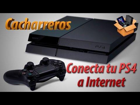 Cómo conectar tu PS4 a Internet
