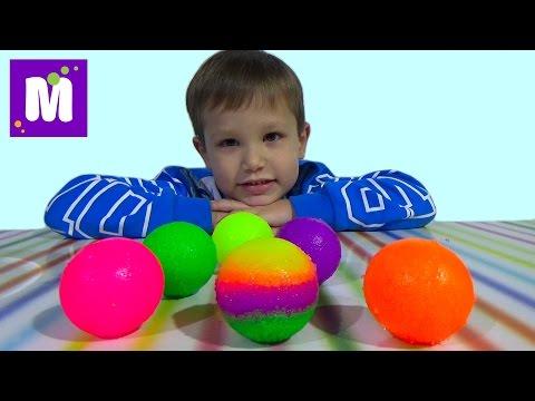 Мэд леб попрыгунчики набор делать мячики самим Mad Lab