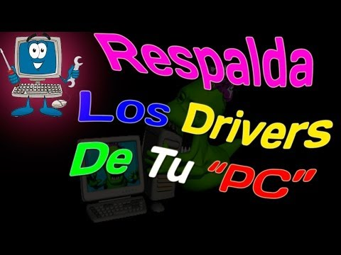 Como Hacer Respaldo A Tus Drivers Para Después De Formatear Win.XP/Vista/7/8-8.1 Y Linux