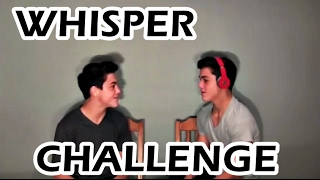 DOLAN TWINS - WHISPER CHALLENGE (DELETED VIDEO)