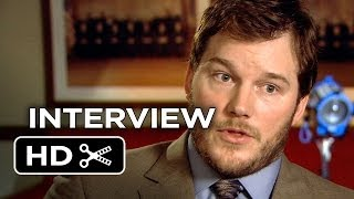 Delivery Man Interview - Chris Pratt (2013) - Vince Vaughn Comedy HD