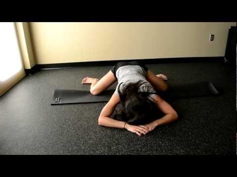 9. Frog Pose / Horizontal Squat Stretch