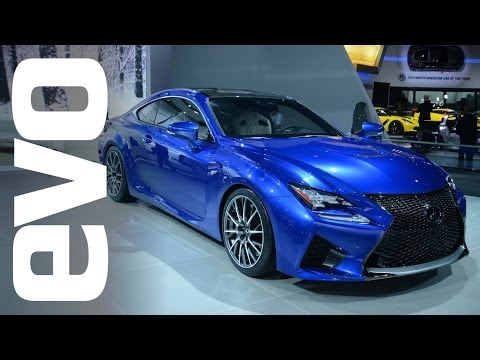 Lexus RC-F at Detroit 2014   evo MOTOR SHOWS