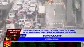 Raymart, witness of the Robinsons Galleria robbery incident, talks to ANC