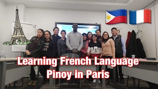 Learning French Language with my Ka Pranoy in Paris