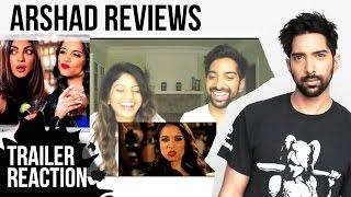 Lilly Singh ft. Priyanka Chopra REACTION! | Arshad & Almas