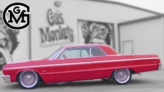 '64 Chevy Impala SS Lowrider Stops By Gas Monkey Garage - Build Of The Week