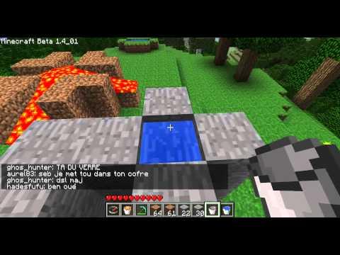 Minecraft - Les MDC 10 échelle hydraulique caché