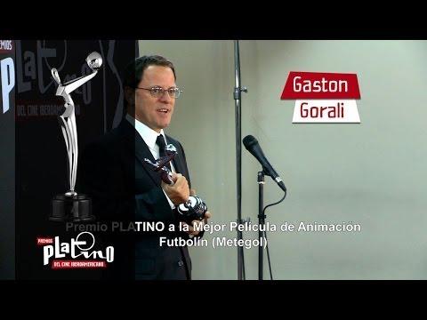 Premio PLATINO - Futbol�n (Metegol) - Mejor Pel�cula de Animaci�n - Gaston Gorali