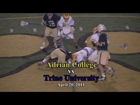 Adrian College Lacrosse vs Trine University