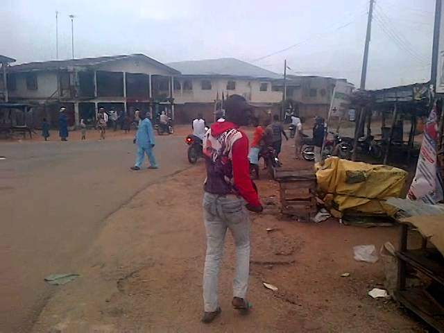 Jubilation in Ede town following Governor Rauf Aregbesola's victory