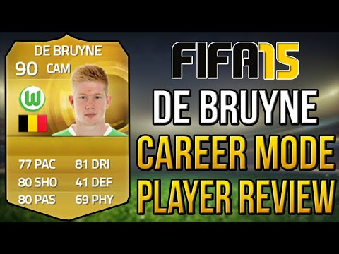 FIFA 15 Career Mode Best Young Players I Kevin De Bruyne Player Review