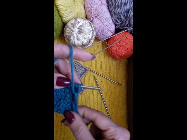 Уроки вязания спицами. Урок 25. Коса из 6-ти петель.