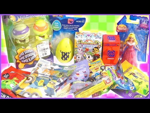 Surprise Toys - Tokidoki Unicorno. Furby Boom. Disney Princess. LPS. Minions. Mashems and MORE!
