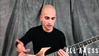 Trivium 'In Waves' Bass Lesson With Paolo Gregoletto