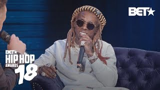 Lil Wayne on Releasing Tha Carter V Pt 1 |  CRWN BET Hip Hop Awards 2018