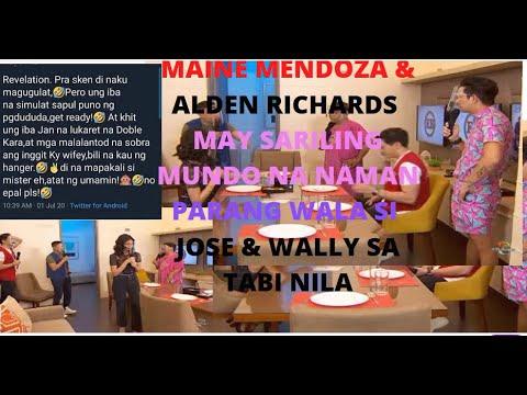 Maine Mendoza & Alden Richards With Jowapao Gawan Na Raw Ng Sitcom Sa Apt Studio Para Sa Adn