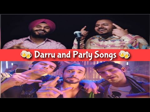 Daru related songs || Party songs || Bollywood songs compilation