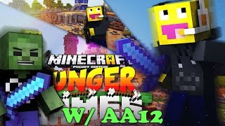 MCPE LBSG WITH AA12 ! Minecraft Pocket Edition 0.11.0