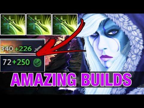 DROW RANGER WITH 3 Butterflies - Amazing Builds - Vroksnak 7.9K - Dota 2