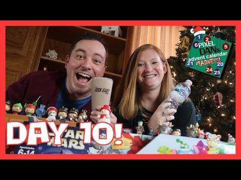 Advent Calendar Madness 2017 - Day 10 - Opening LEGO Star Wars, Disney Tsum Tsum, & Freddy Funko!
