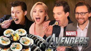 Download Song 한국음식을 먹어본 어벤져스 배우들의 반응?! (실화) Free StafaMp3