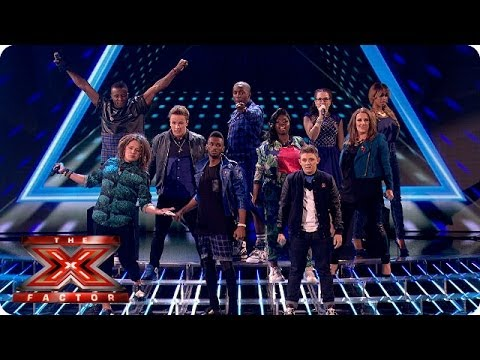 The Final 8 sing Love Me Again - Live Week 5 -...