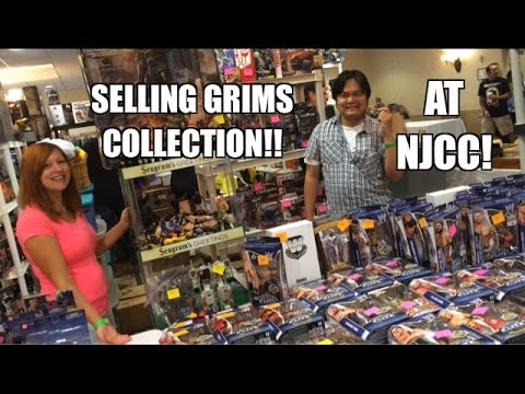 Grim's Toy Show Ep 947: NJCC! WWE Mattel Wrestling figure collection sold by Heel Wife and Scalper!
